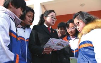 成安县教体局开展法制教育进校园宣讲活动