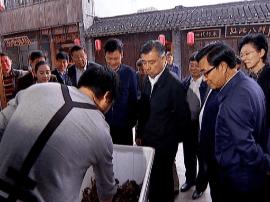 省政协领导来泰州调研农业科技服务体系建设情况