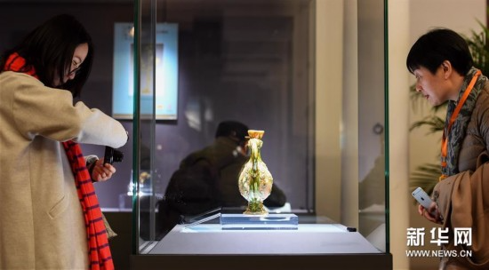 近百件唐代文物展现古丝绸之路文明交融