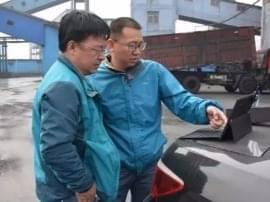 """河津:无人机在环保执法检查中显""""身手"""""""