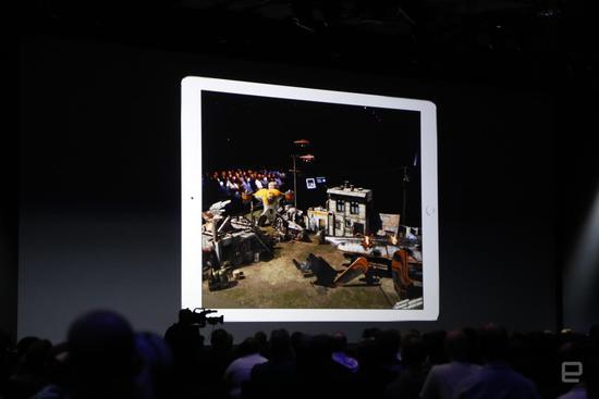 iOS 11加入AR支持 可通过手机摄像头与现实互动