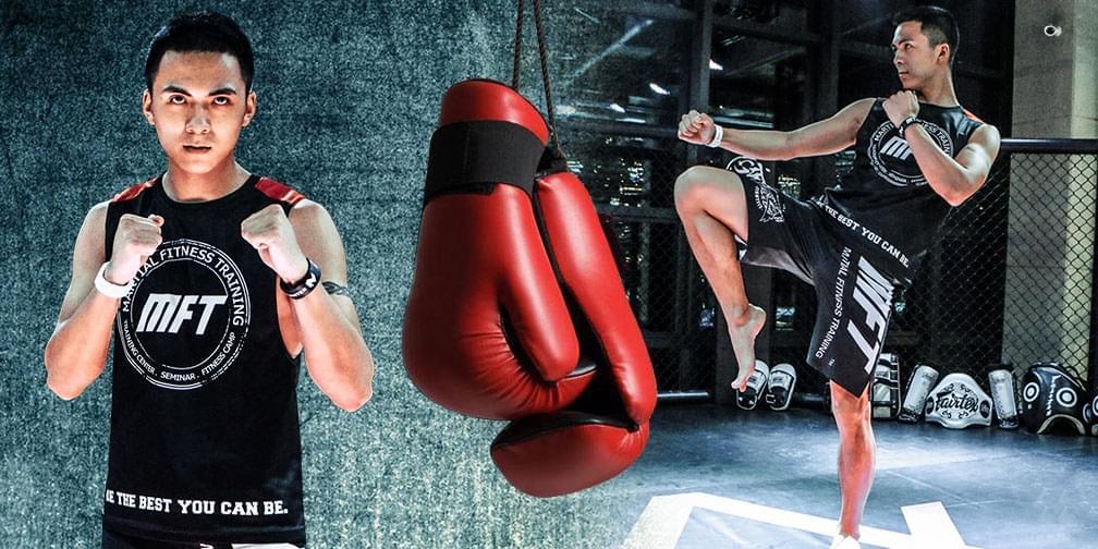 体验性超强的格斗健身 俩美女主播杠上啦