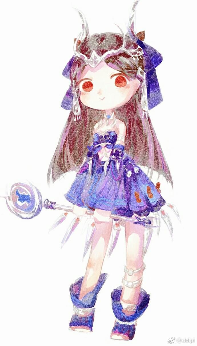 剑网3玩家作品分享 穿校服的毒萝萝真可爱