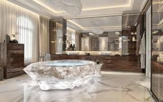 迪拜诞生全球最贵浴缸 价值700万!