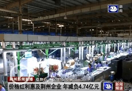 稳物价惠民生:价格红利惠及荆州企业 年减负4.74亿
