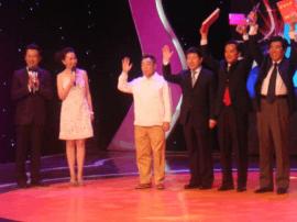 宜昌市百名文艺代表参与录制央视《群英汇》专场