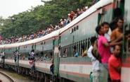 孟加拉穆斯林回乡火车开挂