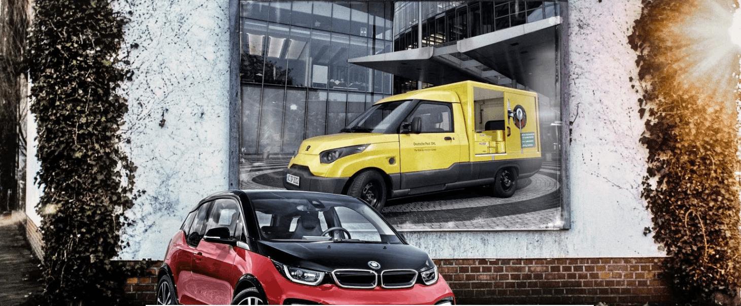 宝马变身供应商 为DHL电动物流车提供电池模块