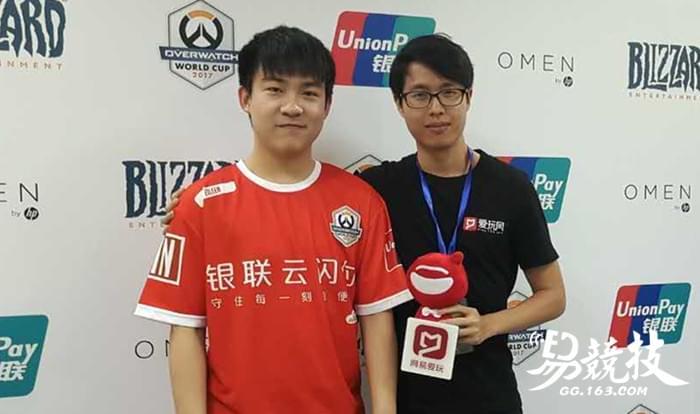 守望先锋世界杯中国队采访:现阶段韩国不可战胜