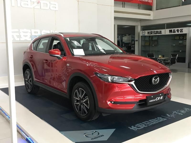 延续魂动设计理念 国产全新CX-5实车亮相