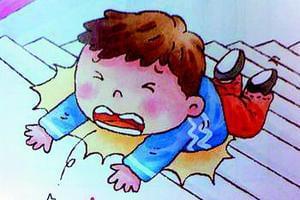 孩子放学途中摔掉牙 托管班被判担责60%