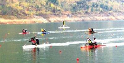 全国皮划艇冠军赛 太原小将马亚男夺双冠