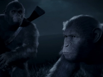 《猩球崛起》今年将推出互动电影式冒险游戏