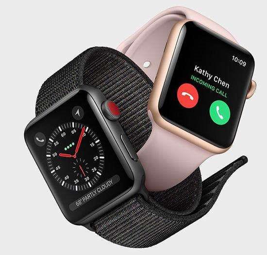 联通试点,Apple Watch 3在华终于能用4G网了