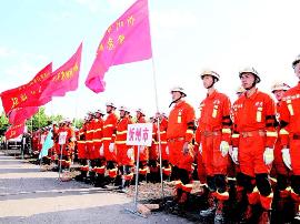 山西六支专业救援队伍6小时开展地震演练