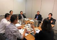 金吉列移民董事长在澳洲为客户寻投资机会与项目