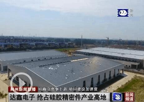 项目追踪:达鑫电子倒排工期 抢占硅胶精密件产业高地