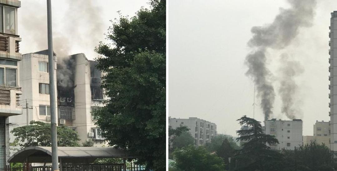 朝阳一居民家中发生爆燃 一男子不幸身亡