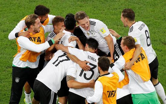 首次问鼎!德国二队称霸联合会杯 两天两冠太残暴