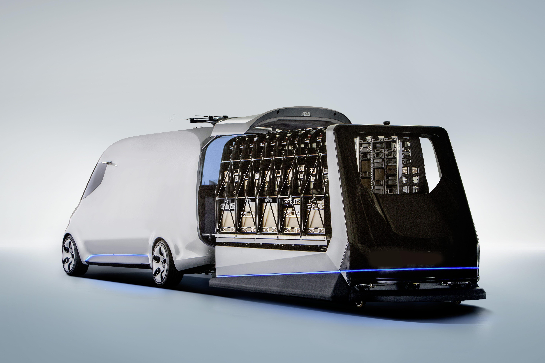 奔驰宣布所有商用车电气化 新款纯电威霆接受预订