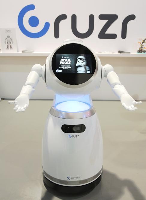优必选在2018CES将双足机器人Walker首次亮相