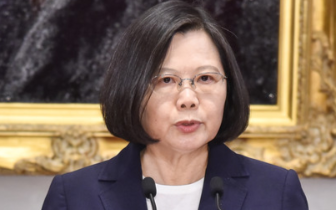 """台湾现""""断交潮"""" 蔡英文:挑战台湾社会的底线"""