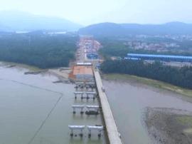 海陵岛大桥项目已完成总工程量24%