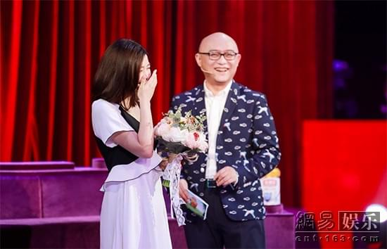 陈妍希新节目录制照流出 或搭孟非主持亲子节目