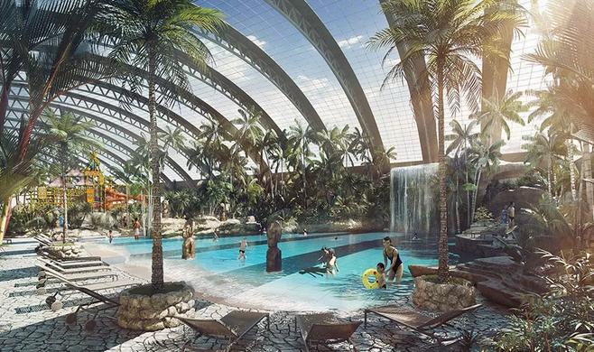 萧山湘湖边建起一座大型综合乐园!预计年底开园