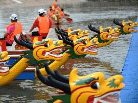 长治沁县: 端午前举行山西龙舟公开赛