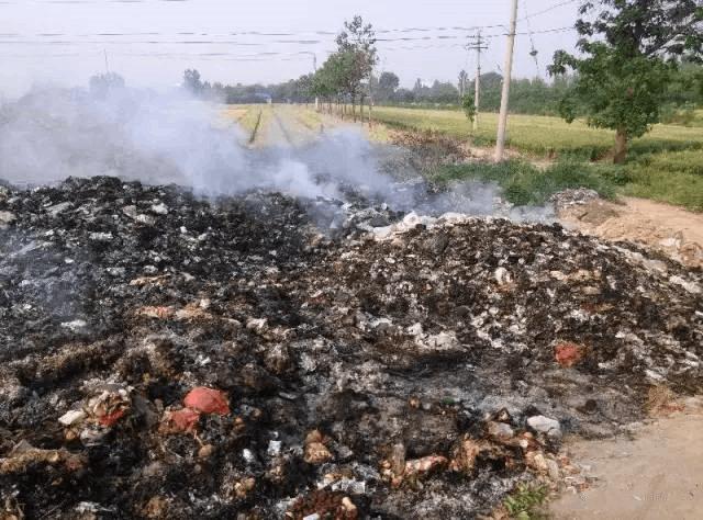 网友反映的闻喜县涑水花园小区焚烧垃圾已受理