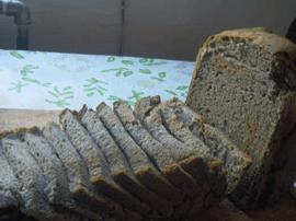营养健康黑芝麻面包