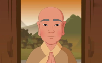 佛教智慧故事:【昙翼法师与采薇少女】