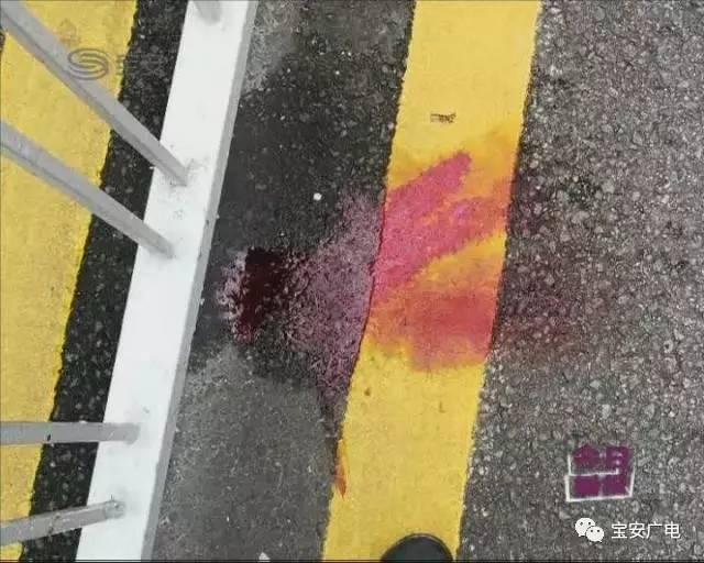 深圳司机斑马线前不减速 撞亡过路女子