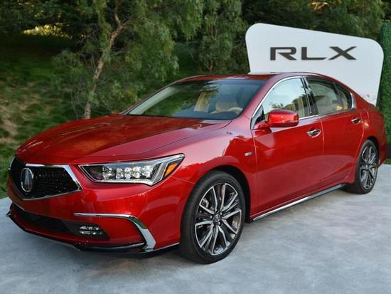搭最新10AT变速箱 讴歌新款RLX首发亮相