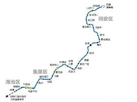 厦门地铁6号线漳州延伸段将设6个站点