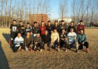 记昌平新东方VS劲松六中橄榄球友谊赛