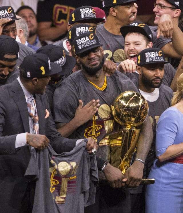 NBA-勇士4-0横扫骑士夺总冠军?博彩公司最新观点曝光