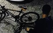 姜堰又现偷车贼 一次性偷数辆自行车