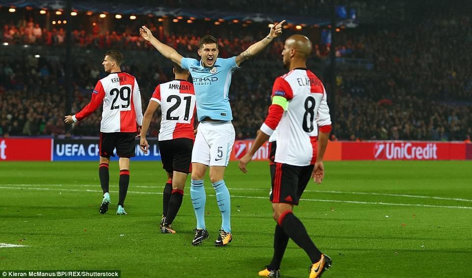 上赛季荷甲冠军费耶诺德本赛季欧冠4战全败小组垫底