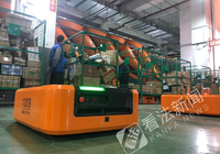 北京邮政投入AGV机器人进行邮包分拣 载重达半吨