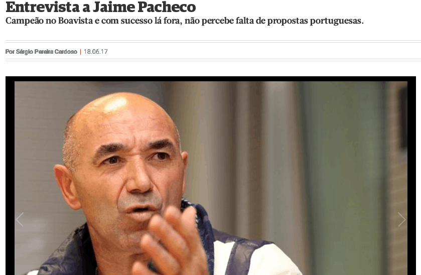 帕切科:泰达一直被政府控制 总经理等高层相继离职