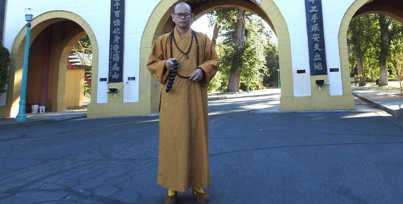六祖禅院释衍梅住持访问万佛圣城和佛光山西来寺