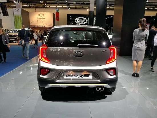 更像个SUV了 起亚Picanto X-Line车展首发