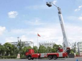 麻城大队斥资460万元购置登高平台消防车