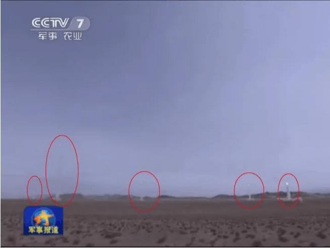 中国7年打了100枚导弹!多次10发齐射,场面壮观