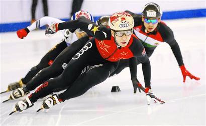 短道速滑世界杯上海站落幕 中国队主场摘得两金