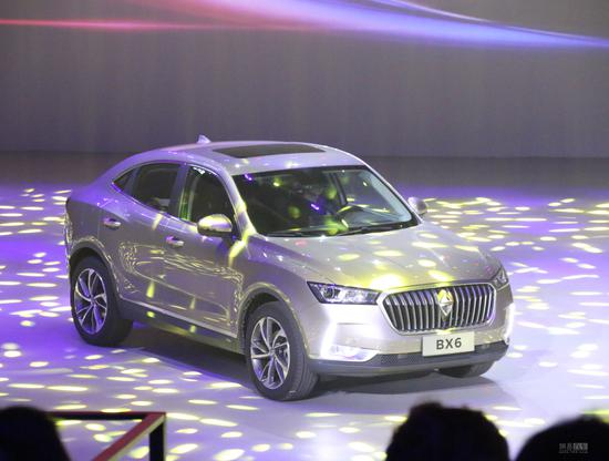 紧凑级轿跑SUV 宝沃BX6售18.28-19.98万