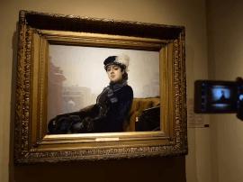 世界名画《无名女郎》领衔 俄国美术珍品压轴亮相上博