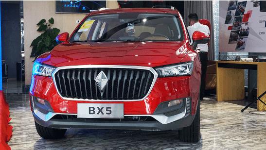12.38万起售 宝沃BX5 1.4T车型重庆上市